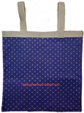 Navy Blue Catheter Drainage Bag Cover