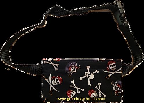 Skulls on Black - EpiPen® Pouch