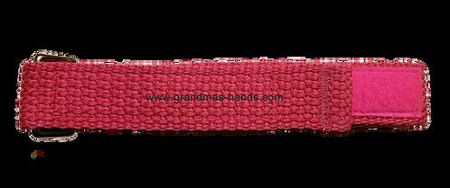 Bright Pink Belt with Velcro Fastener - Insulin Pump Pouch Belt
