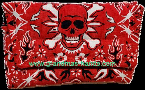 Red Skull  - Insulin Pump Pouch