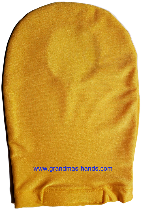Yellow - Adult Stretchy Ostomy Bag Cover