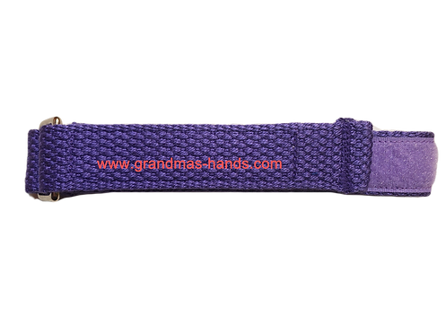 Purple Cloth Belt with Velcro Fastener - Insulin Pump Pouch Belt