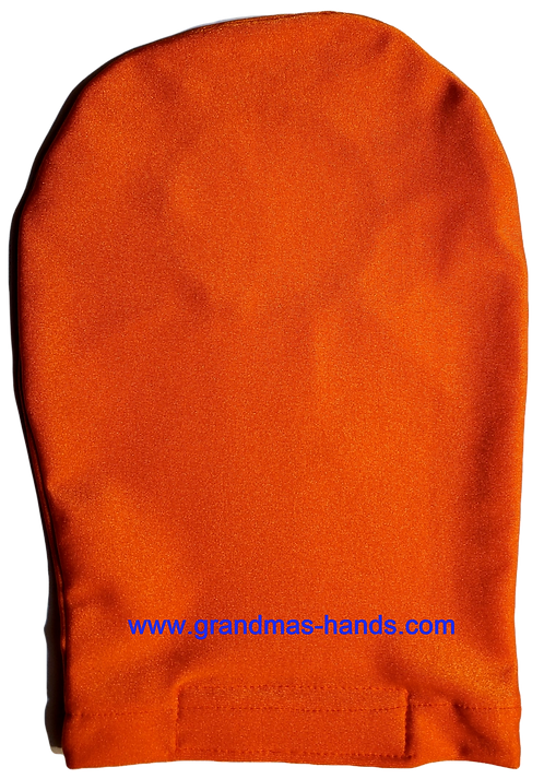 Orange - Adult Stretchy Ostomy Bag Cover
