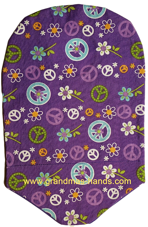 Purple Peace - Adult Urostomy Bag Cover