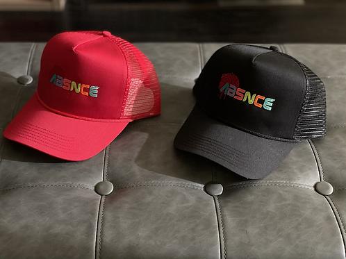 "ABSNCE Trucker ""Classic Neon Logo"""