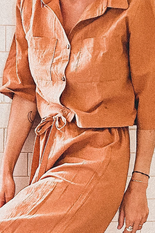 Conjunto 80s - Pantalon + Camisa