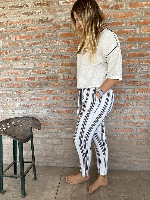 Pantalón rayado