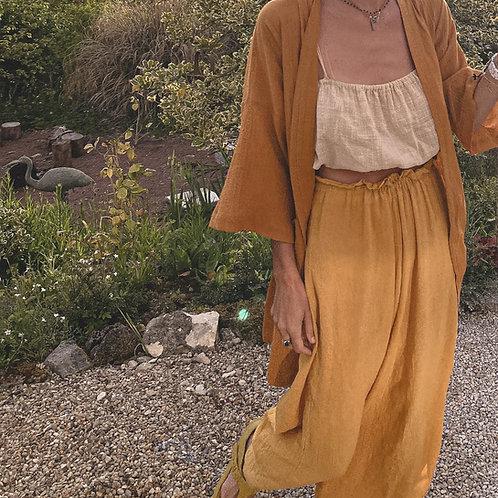 Kimono 100% gasa de algodón