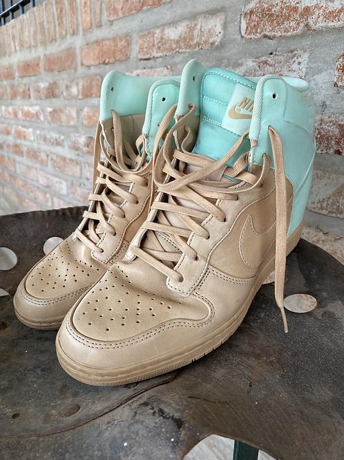 Zapatillas Nike high dunk con taco