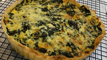 Spinach or Silverbeet Feta Pie