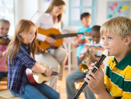 Kako razvijati ritam kod dece, muzički instrumenti