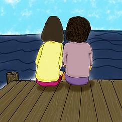 Maika et Rosie