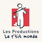 Logo p'tit monde + texte beige 1000x1000