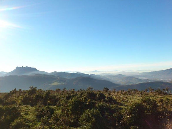 Euskaren montagnes basques