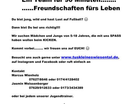 Wir suchen dich !!