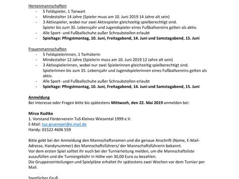 44. Grümpeltunier in Tegernau!!!!  Hier geht's zur Anmeldung