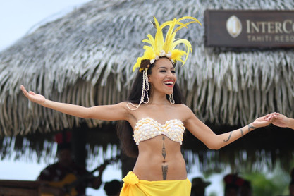 Spectacle de Hei Tahiti dans le Intercontinental Resort