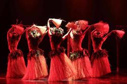 Spettacolo di danze polinesiane