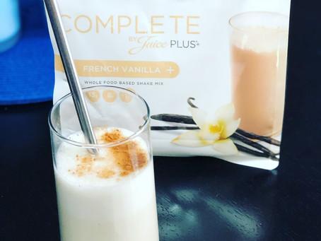 French Vanilla Vegan Shake