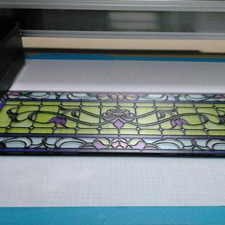 UV printed glass