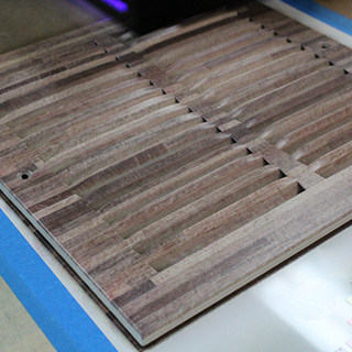 UV printed metal