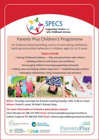 Parents Plus Children's Programme