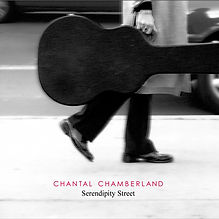 """Chantal ChamberlandSerendipity Street    With her smoky, late-night-at-the-club vocal presence, Chantal Chamberland is like a singer from a different era – one from the days when standards by Gershwin and Berlin were pop songs of the moment and vintage jazz was the height of fashion. SERENDIPITY STREET is a showcase for the artist's passionate, velvety singing voice and her equally adept skills as a guitarist. Featured are a series of standards, pop covers and original pieces, which include soulful renditions of Billie Holiday's classic """"God Bless the Child,"""" Cyndi Lauper's """"Time After Time"""" and Willie Nelson's """"Crazy."""" With each of these timeless torch songs, Chamberland proves herself as a singer with the chops to go up against the best of today's jazz innovators."""