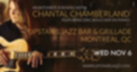 Chantal Chamberland Upstairs Jazz Montreal