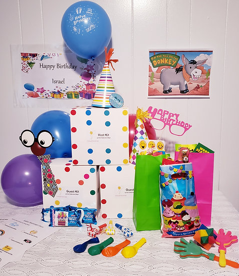 Birthday Virtual Party Kit