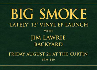 Big Smoke launch their EP at The Curtin