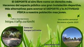 """La Concejalía de Deportes lanza """"ParlActive"""": Tu barrio, tu deporte, tu ciudad"""