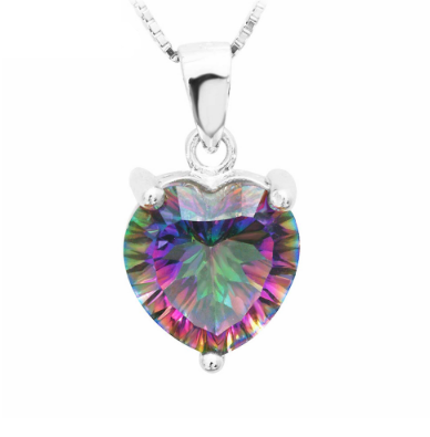 3.9 carat ~ Heart-shaped pendant