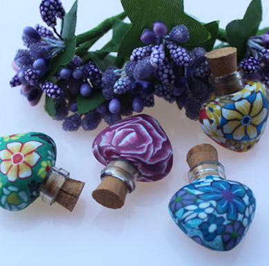 Aromatherapy Essential Oil Heart Pot