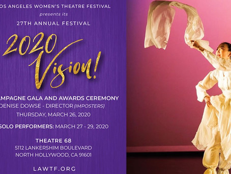 (IM)PERFEKT is coming to Los Angeles Women's Theatre Festival March 28, 8pm