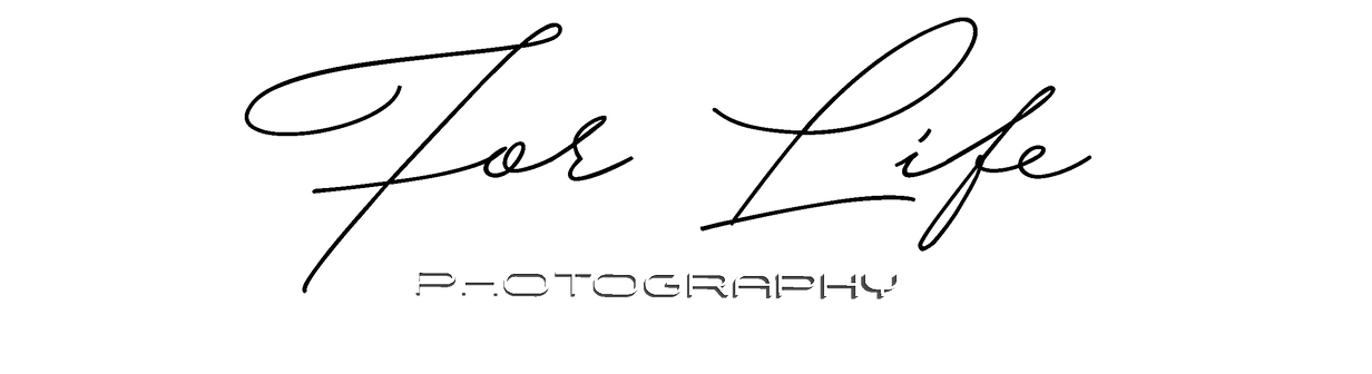 logo tipo for life photography
