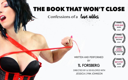 THE BOOK THAT WON'T CLOSE by TL Forsberg