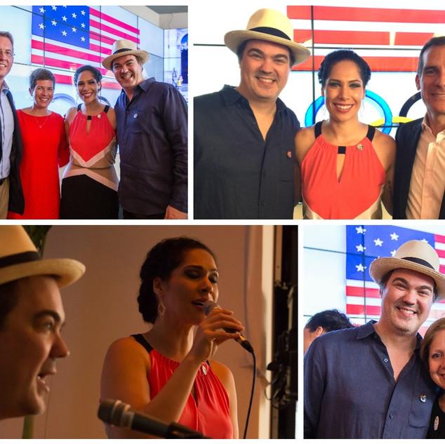 Bossa Nova Noites at the USA Olympic House