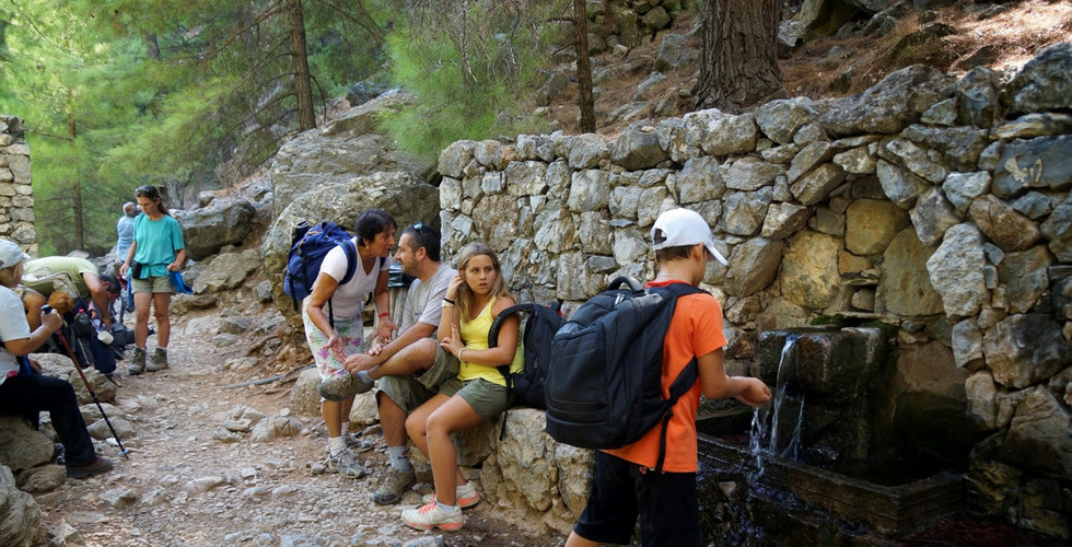 Spring in Samaria gorge