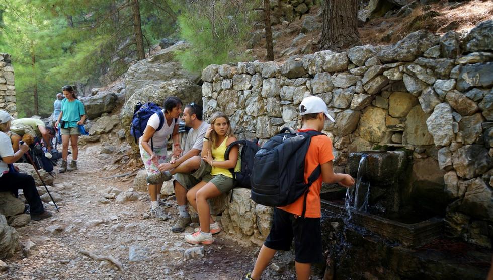 Spring in Samaria gorge