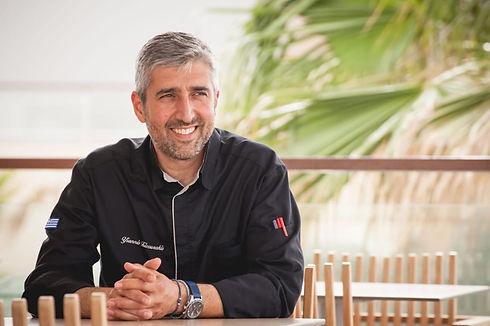 Chef Yiannis Tsivourakis