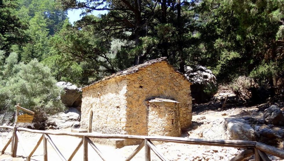 St Nicholas, Samaria gorge