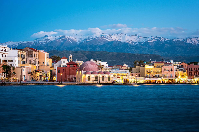 Old harbor chania
