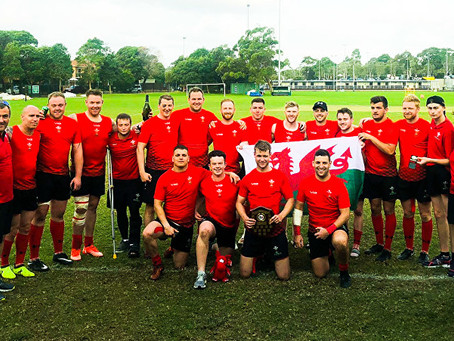 Wales Deaf Rugby wins Gold Medal at Sydney WDR 7's