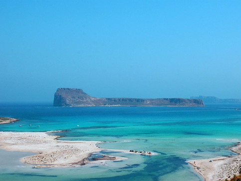 Balos Lagoon in Crete Greece