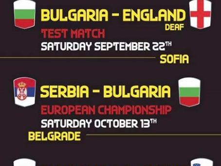 Bulgaria Rugby hosts England Deaf Rugby