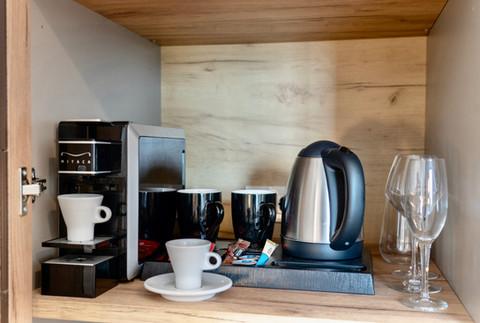 παροχές για καφέ και τσάι