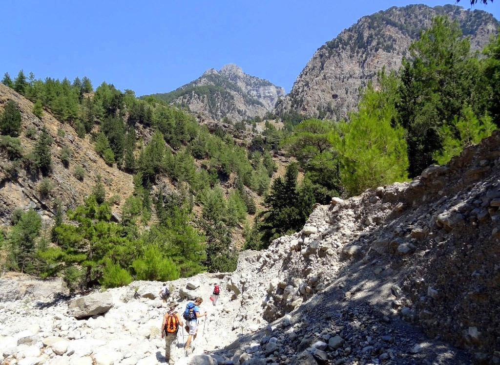 Down in Samaria gorge