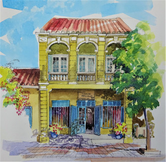 I opened a gallery in Hoi An