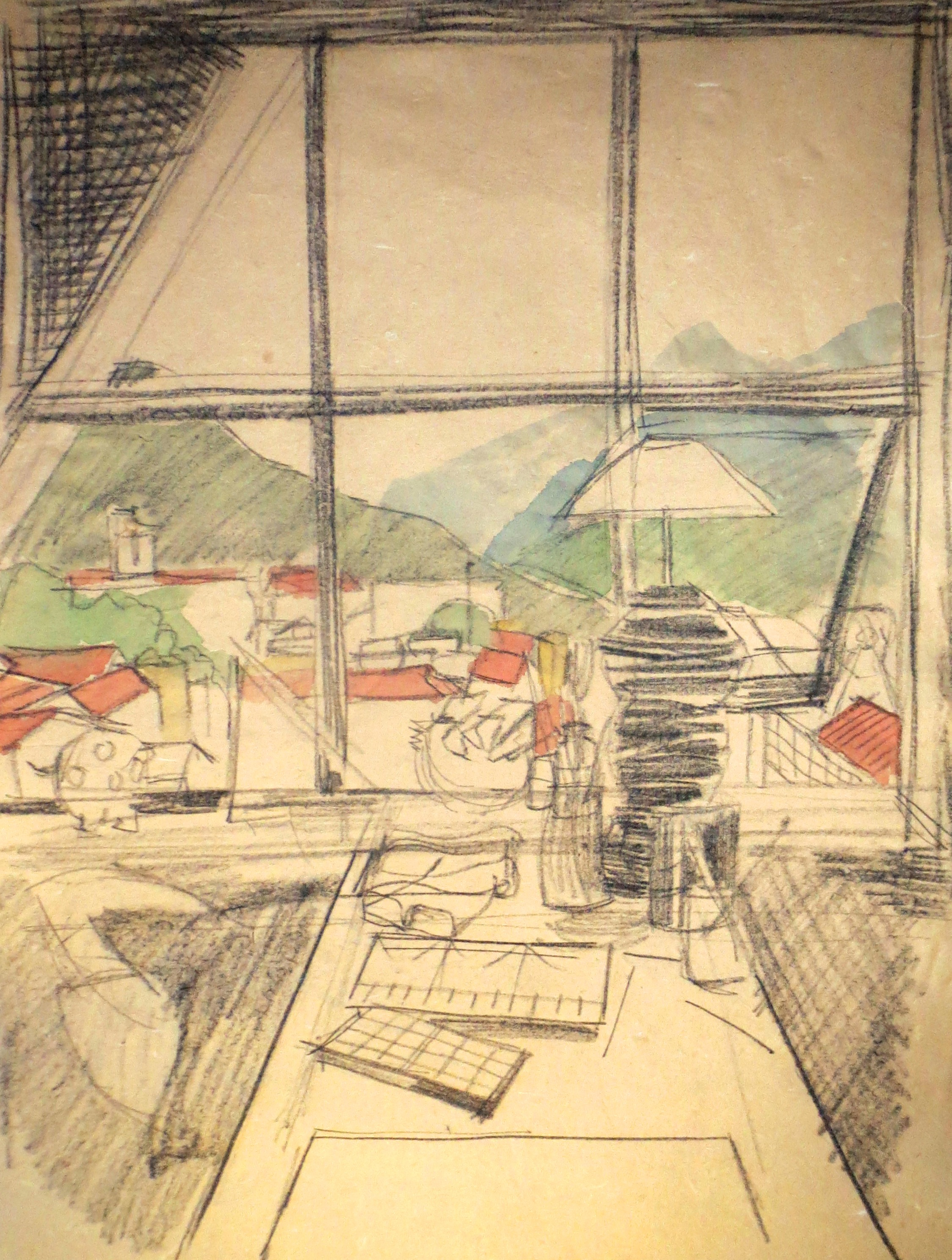 The artist's window - Sapa studio