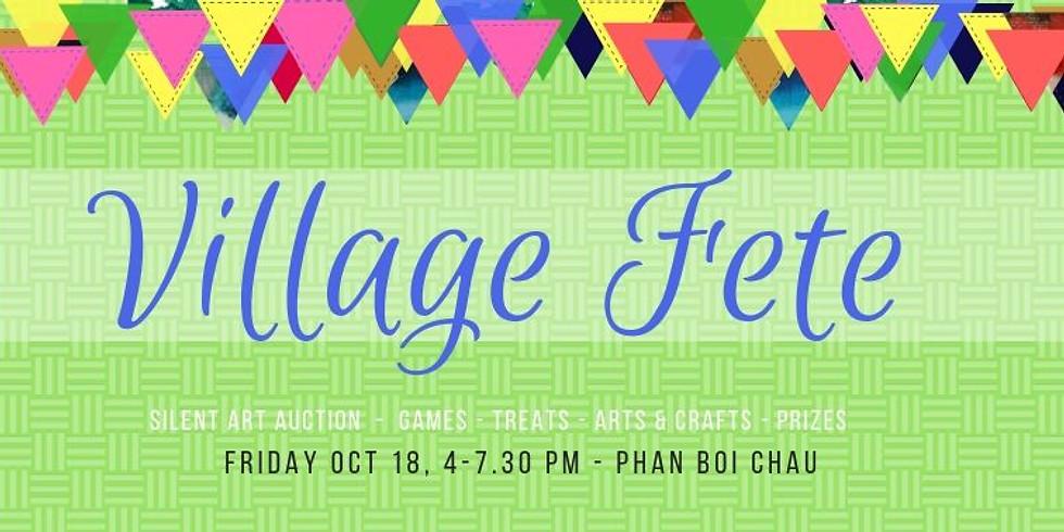 Village Fete - fundraiser